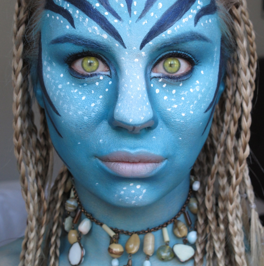 Avatar Face Make Up